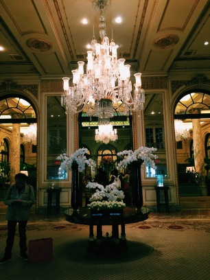Inside the famous Plaza Hotel